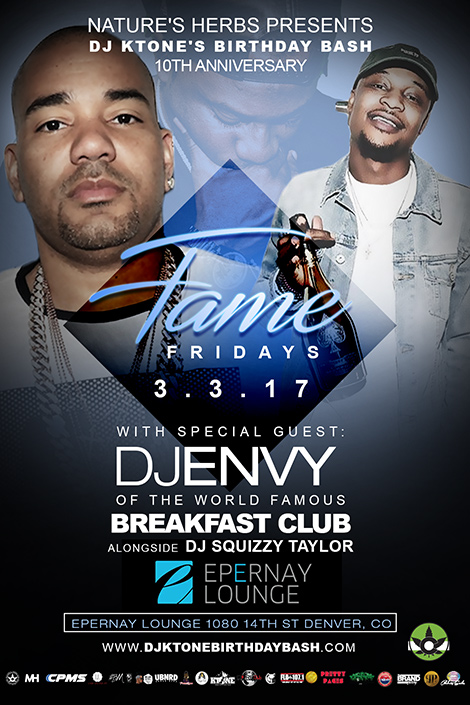 DJ ENVY - Offiial Artist DJ Ktone's 10th Anniversary Birthday Bash